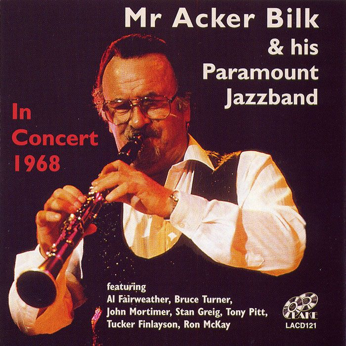 MR ACKER BILK & HIS PARAMOUNT JAZZBAND – IN CONCERT 1968
