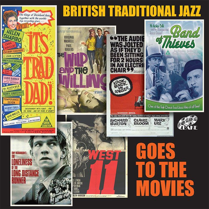 VARIOUS – BRITISH TRADITIONAL JAZZ GOES TO THE MOVIES